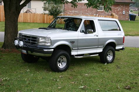 Ford Bronco Lift Kit by 1994 Ford Bronco 2 1 2 Quot Lift Kit Picture Supermotors Net