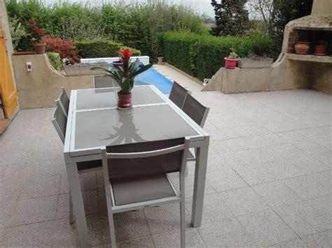 table de jardin aluminium extensible