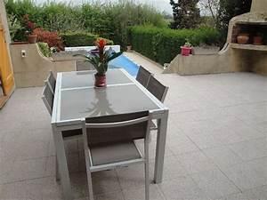 Table De Jardin Extensible Aluminium : table de jardin aluminium extensible ~ Melissatoandfro.com Idées de Décoration