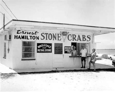 florida memory ernest hamilton s crab store