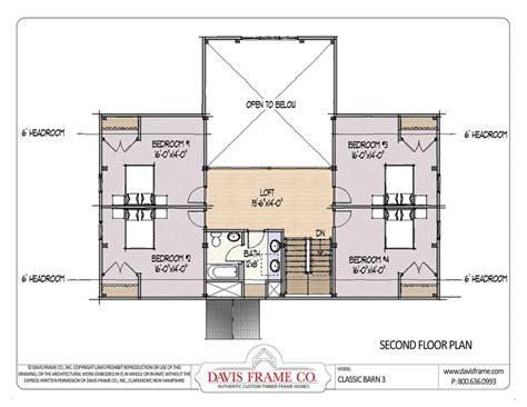 Prefab Post And Beam Barn Home Floor Plans  Classic Barn 3