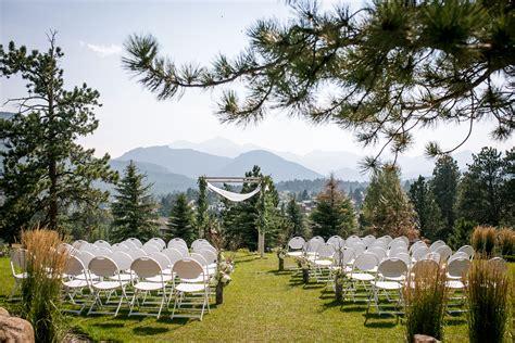 longs peak lawn   stanley hotel outdoor wedding