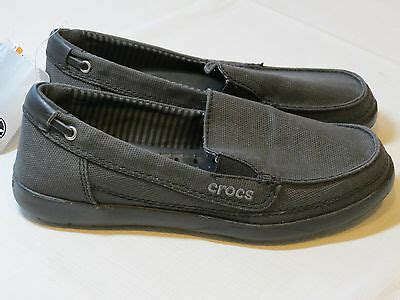 Crocs Walu Canvas Loafers Women