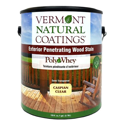 exterior wood stain uv protection nontoxic vermont