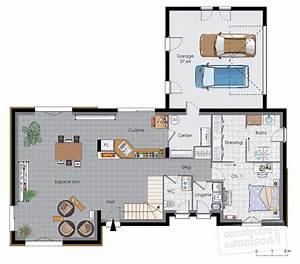 maison a energie positive 2 detail du plan de maison a With faire un plan de maison 2 une maison en ossature bois detail du plan de une maison
