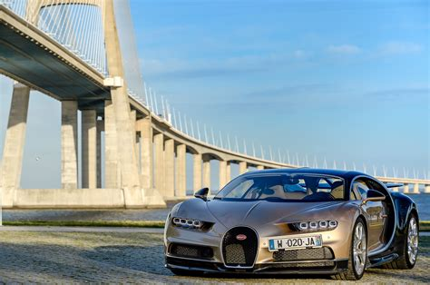 Only a few times in. 2018 Bugatti Chiron First Drive Review   Automobile Magazine