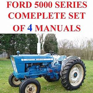 Ford 5000 Series Tractors Service Parts Catalog Owners