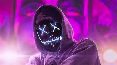 Hoodie Neon Guy 4k Abstract Wallpapers 1080p