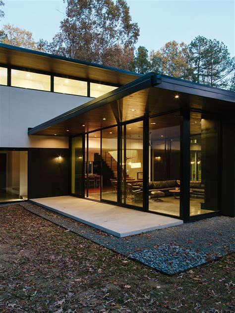 New work for Dwell: Raleigh NC Home the blue hour
