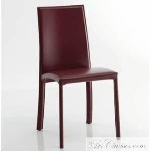 Chaise En Cuir De Salle A Manger BARBARA Et Chaise