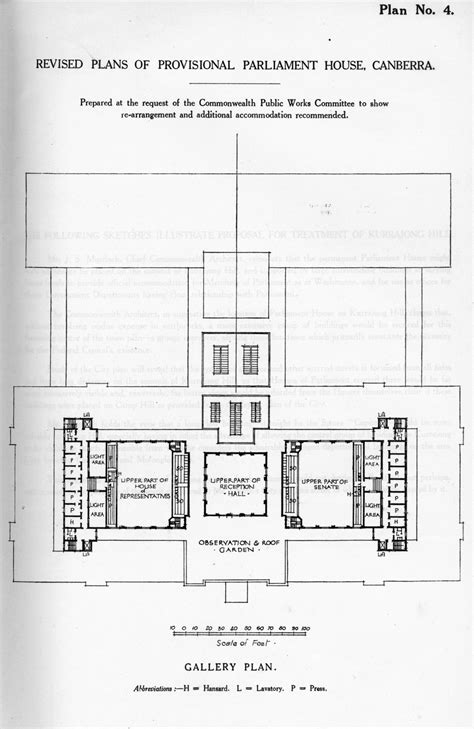 one floor house plans as it was in the beginning parliament house in 1927