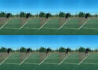 Tennis Serve Ball Types Serves Bounce Before