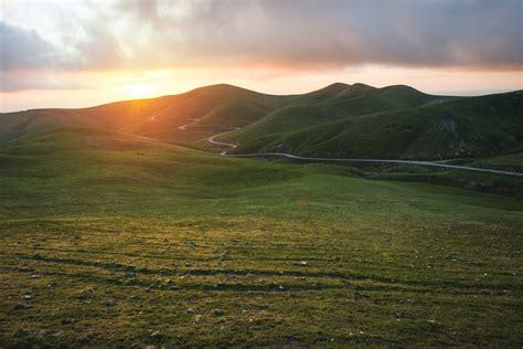 kostenlose foto landschaft natur gras horizont