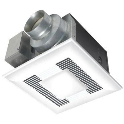 panasonic bathroom exhaust fans home depot panasonic whisperlite 110 cfm ceiling exhaust bath fan