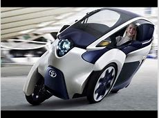 MEGACITIES TRANSPORTATION TOYOTA MAKES 3 WHEEL MINI CAR
