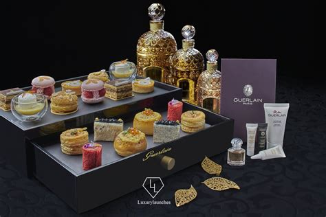 guerlain celebrates  years  beauty   special afternoon tea   intercontinental