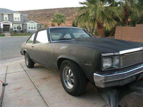 Find Used 1979 Chevrolet Nova Custom Coupe 2-door *newer