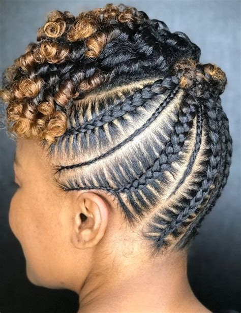 Easy Cornrow Hairstyles by 20 Cornrow Braid Hairstyles