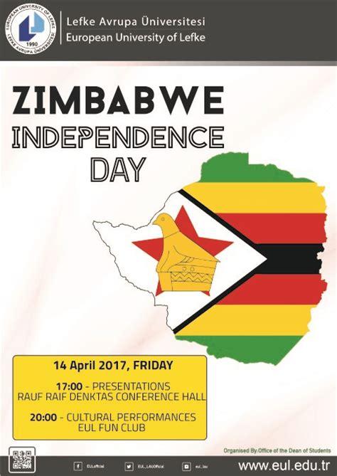 zimbabwe independence day european university lefke