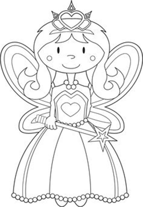 fairy tale coloring page printable activity  kids
