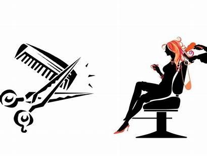 Salon Hair Clipart Saloon Template Ppt Backgrounds