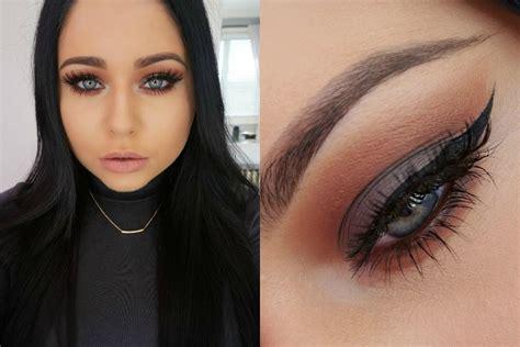 Makeup Tips For Jet Black Hair