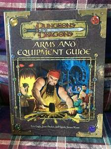 Dungeons  U0026 Dragons D20 3rd Ed Arms And Equipment Guide