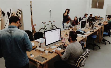 bureau travail bureau à partager la nouvelle tendance collaborative