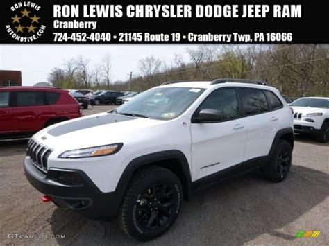 jeep trailhawk 2016 white 2016 bright white jeep cherokee trailhawk 4x4 112523252