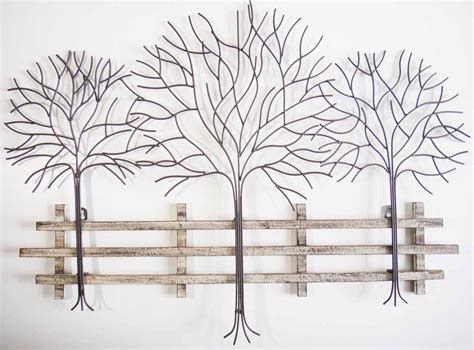 metal tree wall art contemporary metal wall art autumn