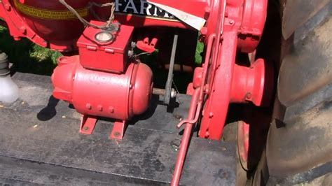 Farmall Tractor With Generator & Starter F-20
