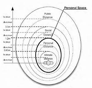 Illustration Of The Presumed Personal Space Shape  Amaoka