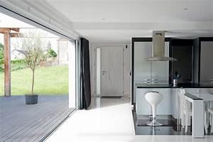 Baie à Galandage : baie vitr e coulissante galandage en aluminium baies ~ Melissatoandfro.com Idées de Décoration