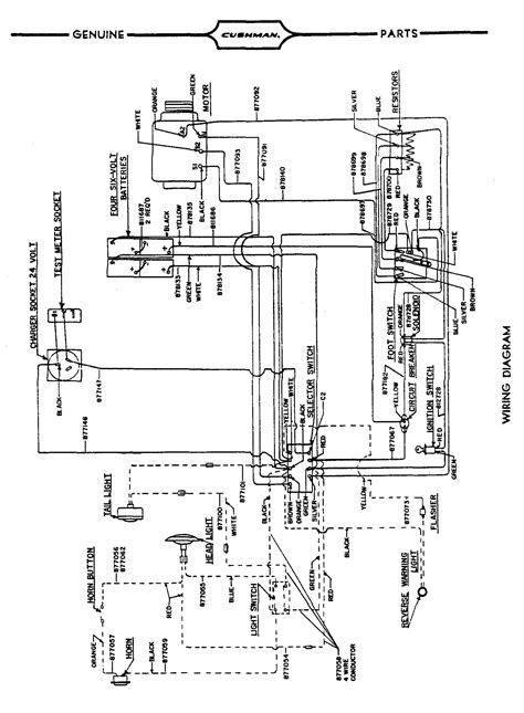 Gy6electric Choke Wiring Diagram by Vintagegolfcartparts
