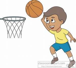Basketball Clipart : boy-shooting-hoops-basketball-clipart ...