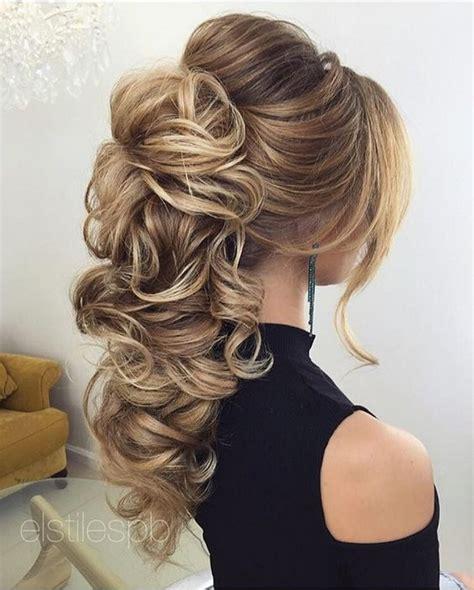 creative  unique wedding hairstyles  long hair