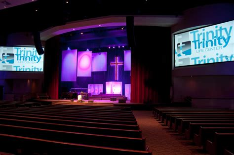 church stage designs traditional to modern church stage design ideas