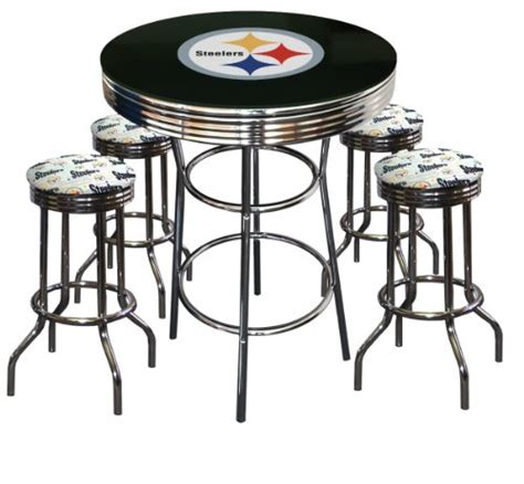 steelers pub tables pittsburgh steelers pub table