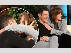 Sally Field and Max Greenfield have make out session on