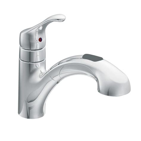 moen pull out kitchen faucet repair moen ca87316c chrome pullout spray from the renzo