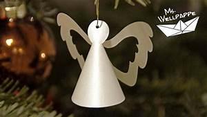 Engel Selber Basteln : kleine engel basteln mit papier als christbaumschmuck zu ~ Lizthompson.info Haus und Dekorationen