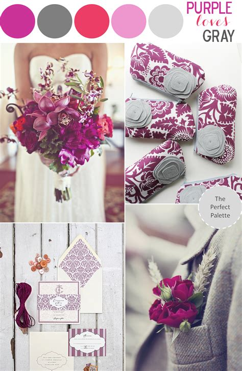 Purplegray Wedding On Pinterest  Purple Wedding, Gray
