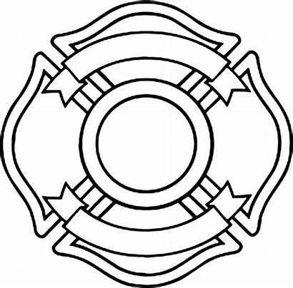 Maltese Cross Fire Coloring Department Blank Pages