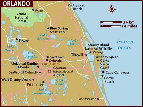 map  orlando north america maps map pictures