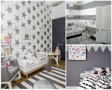 habitaciones infantiles el gris  tiene porque ser aburrido