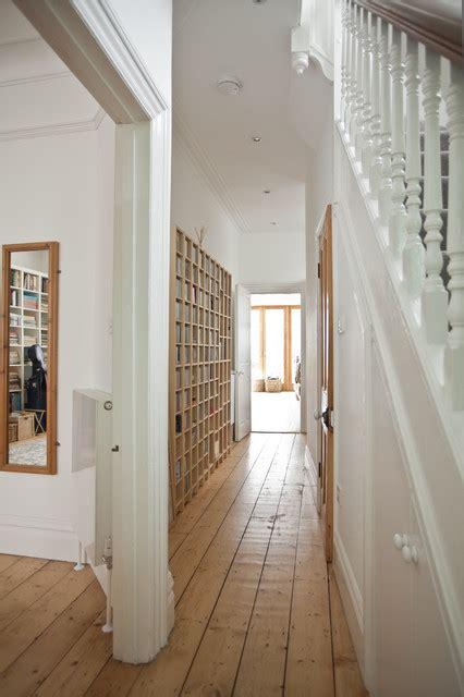 skinny hallway feel  spacious