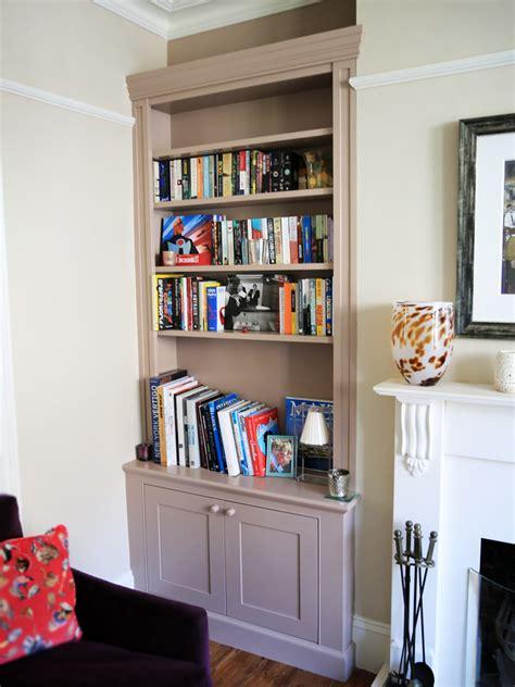 Built in Bookshelves, bespoke bookcases London