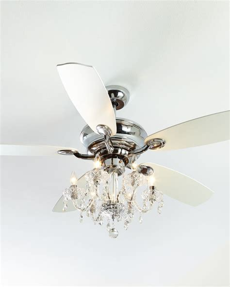 julianne white fandelier contemporary ceiling fans