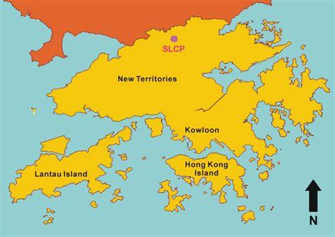 hong kong mapjpg  hk voyages pinterest