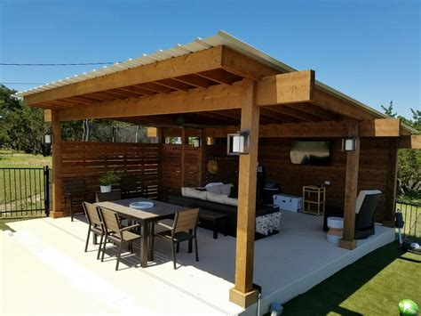 bee cave tx contemporary pergola decks pergolas